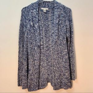 3 For $25 Ralsey Blue & White Cardigan Sweater